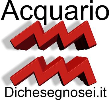 Oroscopo 2014 Acquario